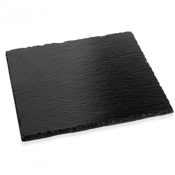 Naturschieferplatten - Naturschiefer - schwarz - rechteckig - APS 00997
