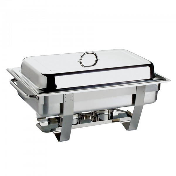 Chafing-Dish - Edelstahl - eckig - Serie Chef - APS 11675