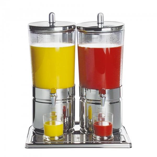 Saftdispenser - Edelstahl / SAN - hochglanzpoliert - Serie Top Fresh - APS 10720
