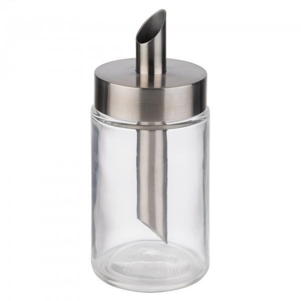 Zuckerspender - Glas - transparent - rund - 40509