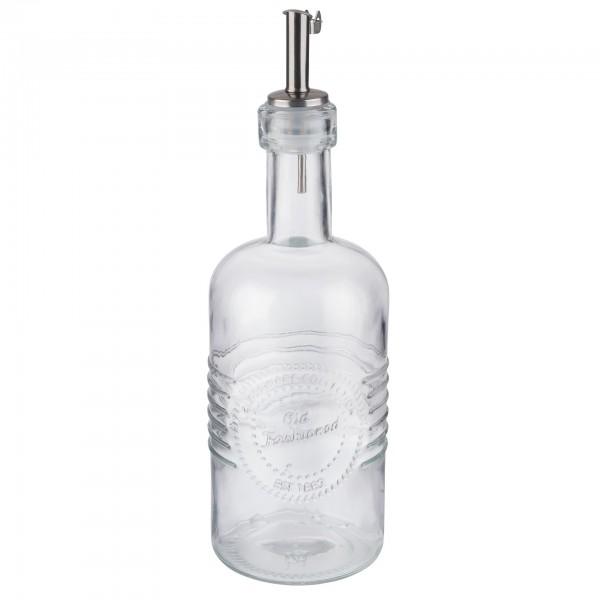 Essig- und Ölflasche - Glas - transparent - Serie Old Fashioned - 40511