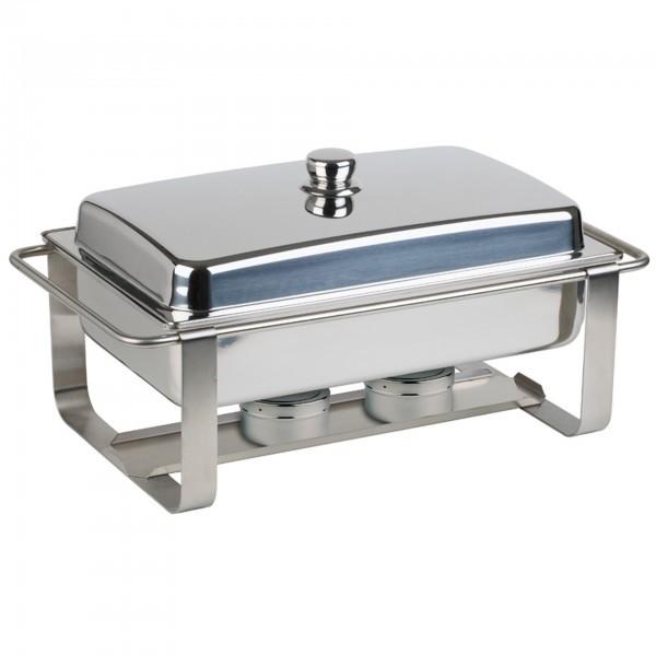 Chafing-Dish - Edelstahl - rechteckig - Serie Caterer Pro - APS 12233