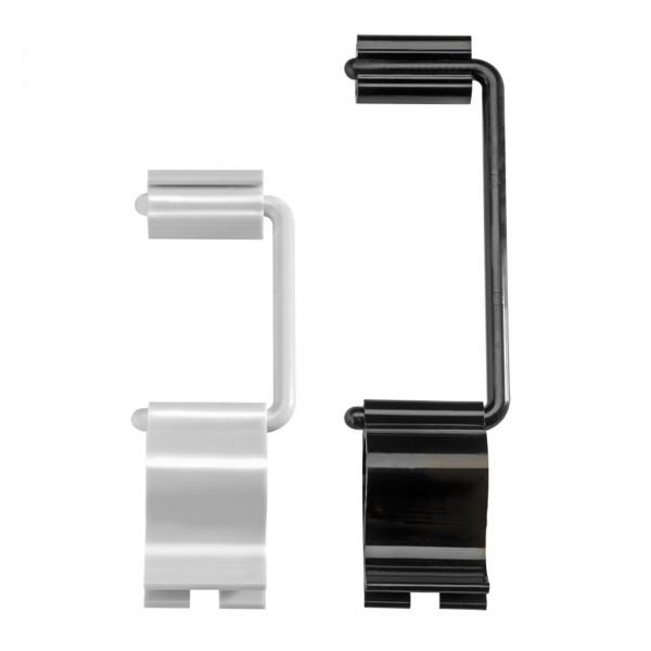 Schilderhalter - Polycarbonat - elfenbein - Serie Flex Clip - APS 71472