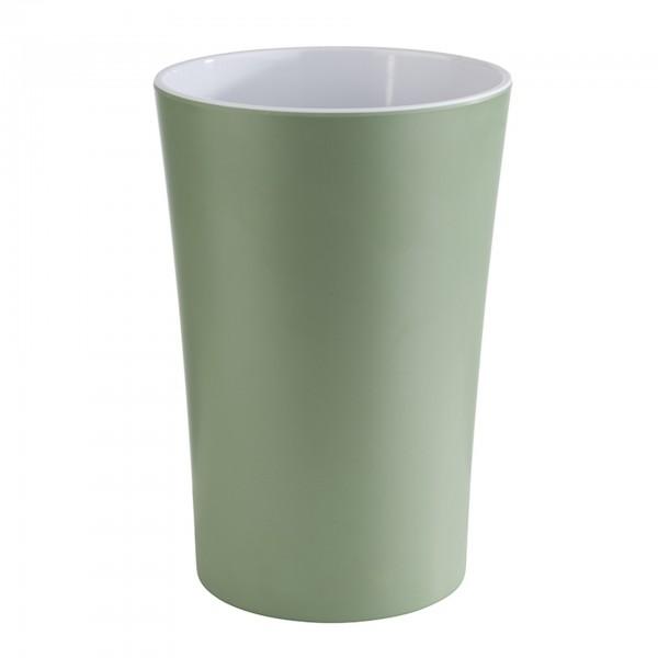 Dressingtopf - Melamin - grün - rund - Serie Pastell - 84862