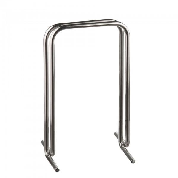 Tischkartenhalter - Metall - verchromt - Serie Profi - APS 40425