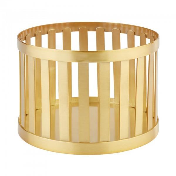 Buffet-Ständer - Metall - Gold-Look - Serie Baskets - APS 15334