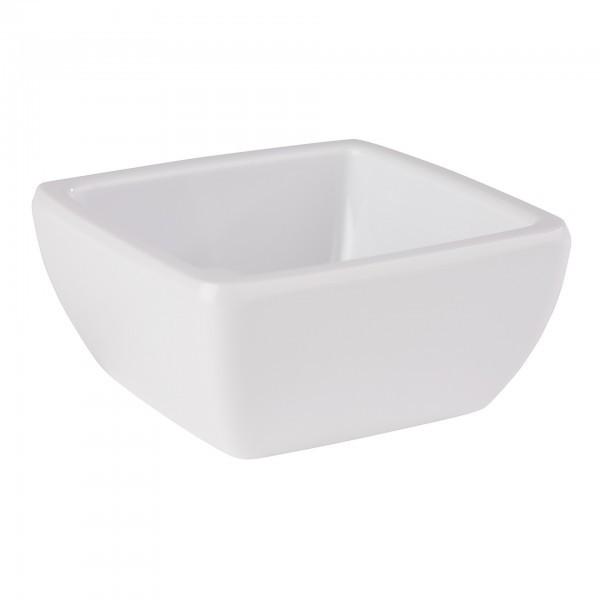 Schale - Melamin - weiß - quadratisch - Serie Pure - APS 84424