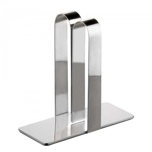 Tischkartenhalter - Edelstahl - APS 00071