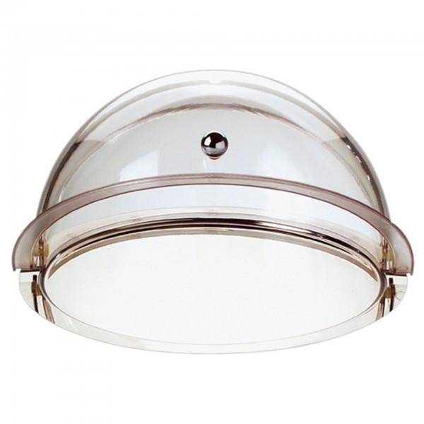 Rolltop-Set - Kunststoff / Edelstahl - glasklar - rund - APS 09080