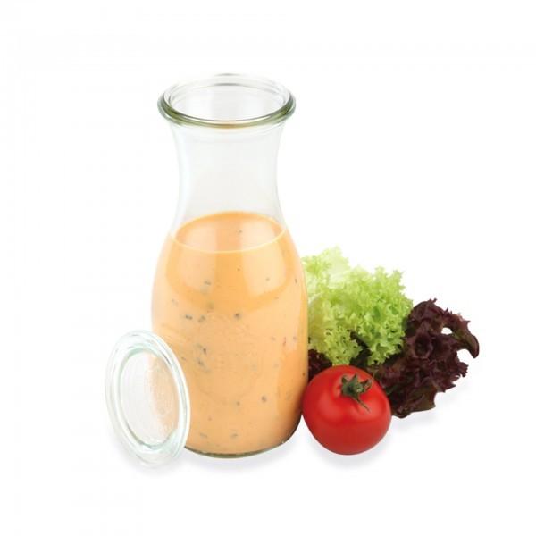Weck-Flaschen - Glas - klar - bauchig - Serie Weck - APS 82308