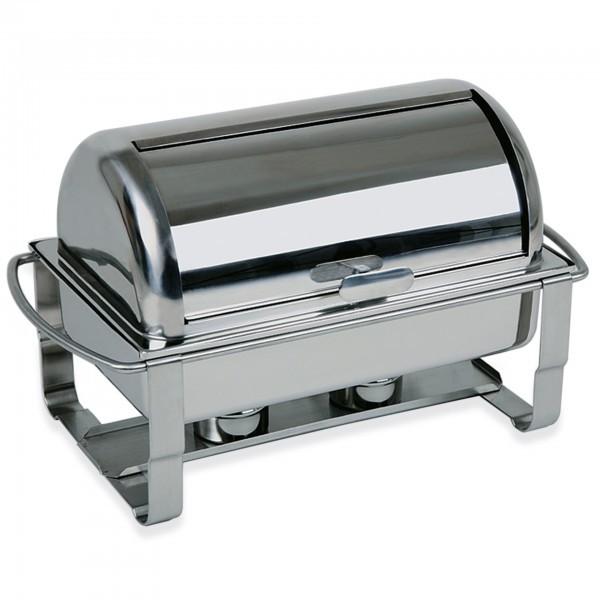 Rolltop-Chafing-Dish - Edelstahl - eckig - Serie Caterer - APS 12245