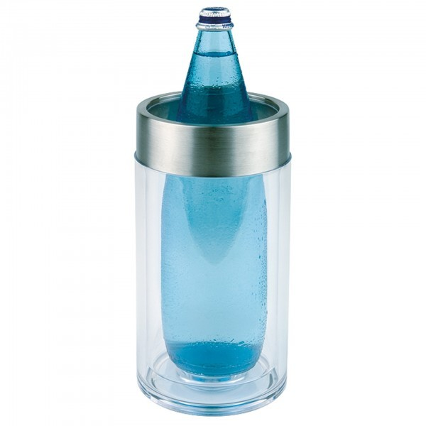 Flaschenkühler - MS - durchsichtig - APS 36050