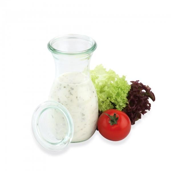 Weck-Flaschen - Glas - klar - bauchig - Serie Weck - APS 82307