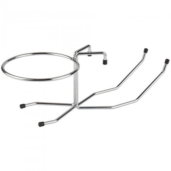 Tischhalterung für Sektkühler - Metall, verchromt - APS 30332