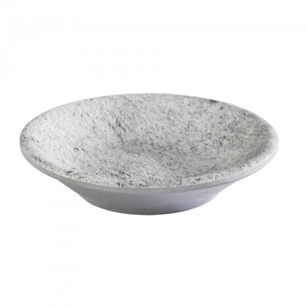Schale - Melamin - grau - rund - Serie Element - 84825