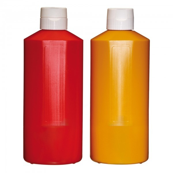 Quetschflasche - Polyethylen - rot - APS 93222