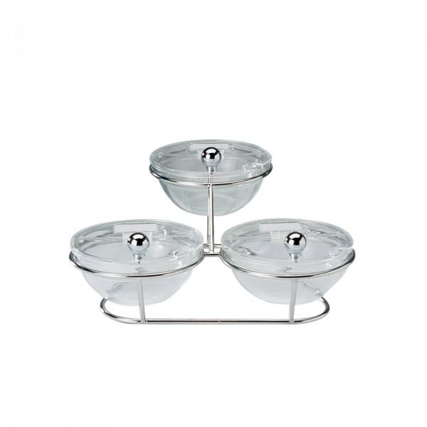 Buffet-Ständer - Metall - verchromt - Serie Little - APS 11893