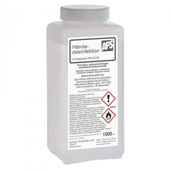 Desinfektionsmittel - Kunststoff - Flasche mit Deckel - 98221