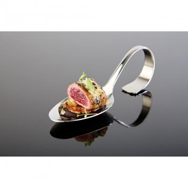 Gourmetlöffel - Edelstahl - Silber-Look - Serie Klassik - APS 00677