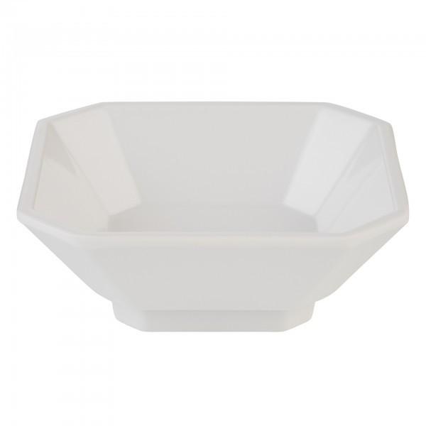 Schale - Melamin - weiß - quadratisch - Serie Mini - APS 84750