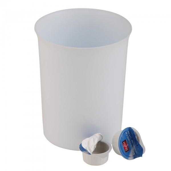 Tischrestebehälter - Polypropylen - weiß - rund - APS 02038
