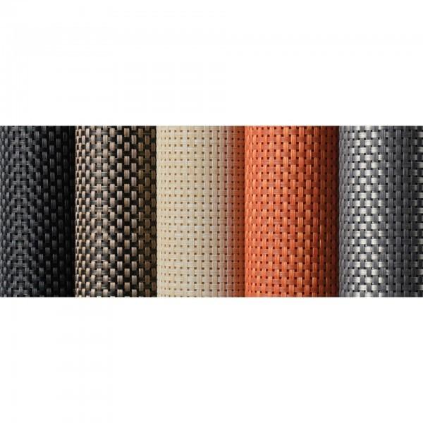 Tischläufer - PVC - schwarz - APS 60022