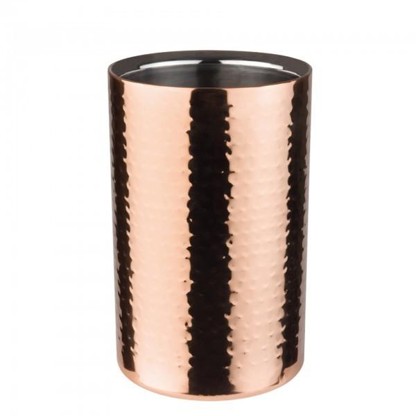 Flaschenkühler - Edelstahl - Kupfer-Look - Serie Copper - APS 36074
