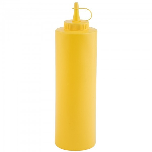 Quetschflasche - Polyethylen - gelb - APS 93155