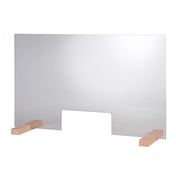 Hygieneschutzwand - transparent - kratzfest - 98014
