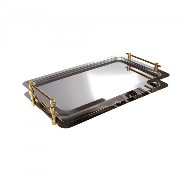 GN-System-Tablett - Edelstahl - hochglanzpoliert - eckig - Serie Profi Line - APS 11290