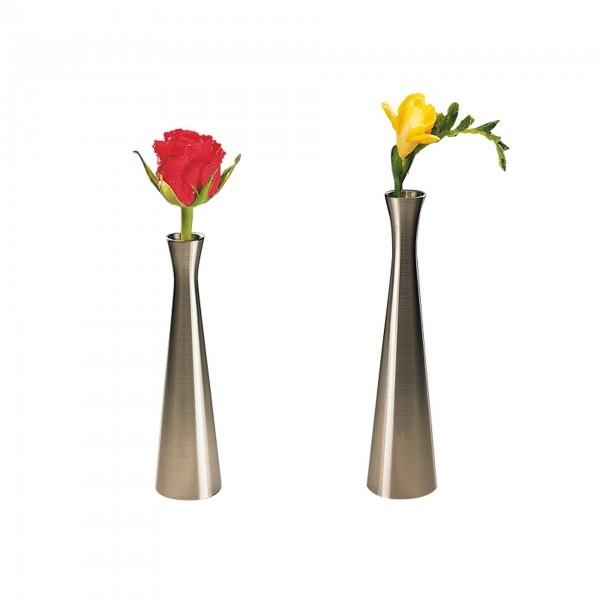 Vase - Zinkdruckguss - lackiert - rund - APS 04015