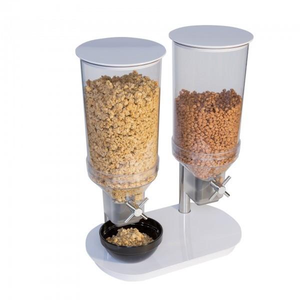 Cerealienspender - Melamin - weiß - Serie Duo - APS 12054