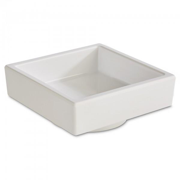 BentoBox - Melamin - weiß - quadratisch - 15473
